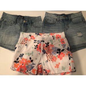Girls Old Navy Shorts Bundle
